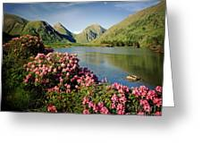 Stillness Of The Mountain Greeting Card
