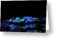 Stillness Of The Night Greeting Card