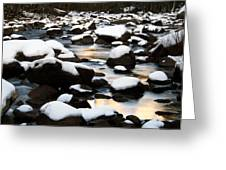 stillness on the Merced River Greeting Card