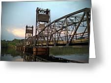 Stillwater Lift Bridge Greeting Card