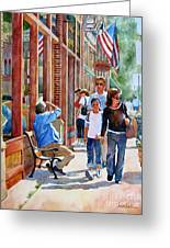 Stillwater Shoppers Greeting Card