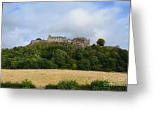 Stirling Castle Greeting Card