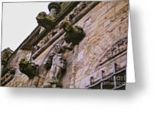 Stirling Castle Detail Greeting Card