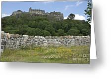 Stirling Castle Scotland Greeting Card