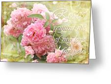 Stirred Memories Greeting Card
