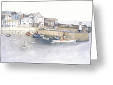 St.ives Cornwall England Greeting Card