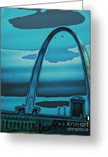 St.louis Arch Greeting Card