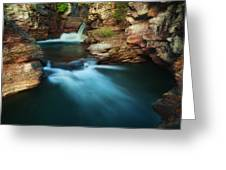 St.mary Falls Greeting Card