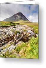 Stob Dearg Peak Greeting Card