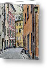 Stockholm 15 Greeting Card