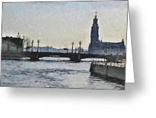 Stockholm 9 Greeting Card