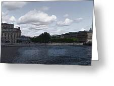Stockholm Graphic Greeting Card