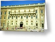 Stockholm Palace Greeting Card