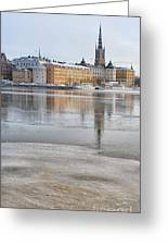 Stockholm Winter Greeting Card