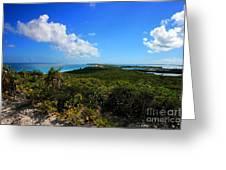 Stocking Island Exuma Bahamas Greeting Card