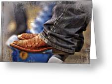 Stockshow Boots IIi Greeting Card