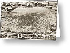 Stockton San Joaquin County California  1895 Greeting Card by California Views Mr Pat Hathaway Archives