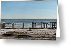 Stolen Boardwalk Greeting Card
