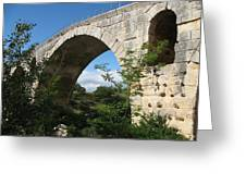 Stone Arch Of Pont St. Julien Greeting Card