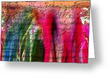 Stone Art Abstract Greeting Card