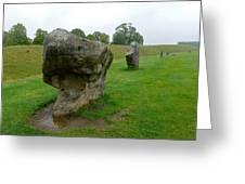 Stone At Avebury Greeting Card