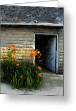 Stone Barn Acanthus Greeting Card