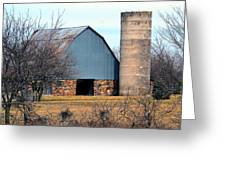 Stone Barn Greeting Card