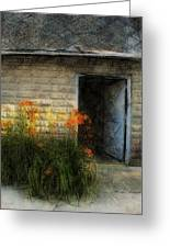 Stone Barn Lux Greeting Card