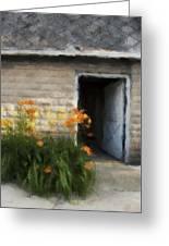 Stone Barn Neo Greeting Card
