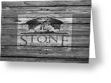 Stone Brewing Greeting Card