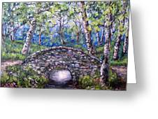 Stone Bridge 2 Greeting Card