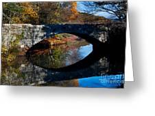 Stone Bridge Greeting Card by Jim  Calarese