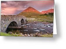 Stone Bridge Over Sligachan Greeting Card
