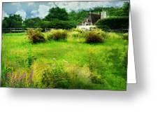Stone Crop Garden Greeting Card