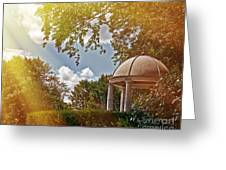 Stone Gazebo Greeting Card