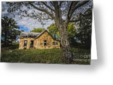 Stone House Greeting Card