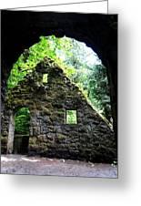 Stone House Doorway Greeting Card