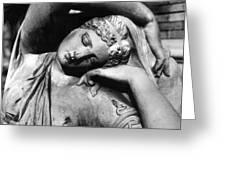 Stone Lady Greeting Card