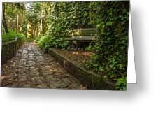 Stone Path Greeting Card by Jess Kraft