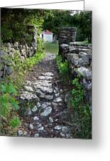 Stone Pathway Greeting Card