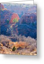 Stone Quarry At Red Rocks Open Space Greeting Card