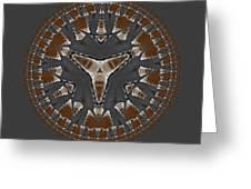 Stone Ridge Mandala Greeting Card