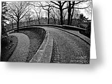 Stone Road And Path Greeting Card