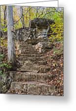 Stone Steps Greeting Card