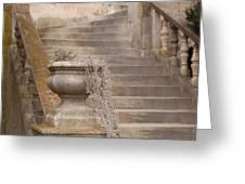 Stone Steps National Cathedral Greeting Card