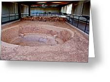 Stone Village-850 Ad In A Protective Shelter On The Mesa Top In Mesa Verde National Park-colorado Greeting Card