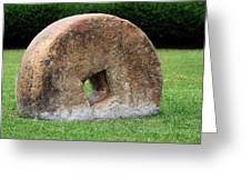 Stone Wheel Greeting Card