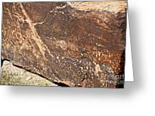 Stone Written Greeting Card