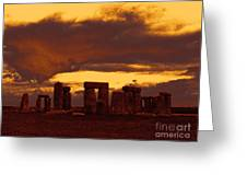 Stonehenge 6 Greeting Card