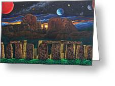 Stonehenge At Cathedral Rock Greeting Card
